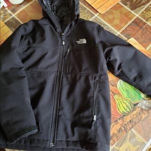 Boys north face jacket siZe medium (10-12)